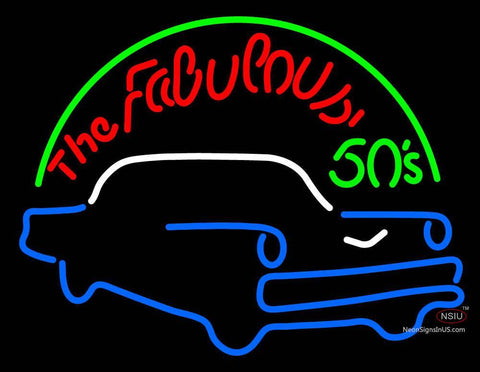 The Fabulous s Neon Sign