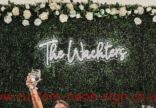 The Wachters Wedding Home Deco Neon Sign