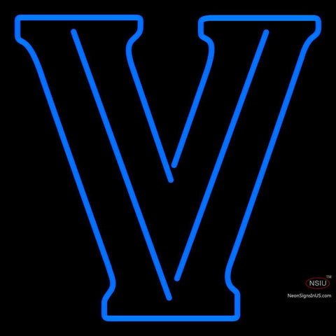 Villanova Wildcats Primary  Pres Logo Ncaa Neon Sign