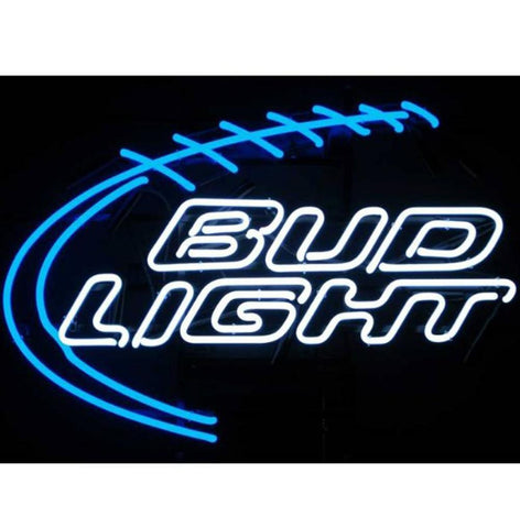 Vintage Budweiser Neon Bar Signs
