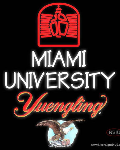 Yuengling Miami UNIVERSITY Neon Sign