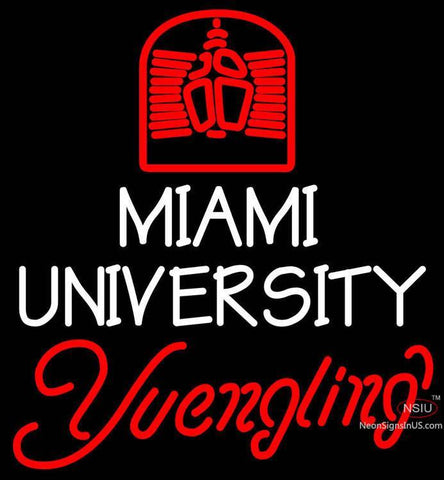 Yuengling Neon Miami UNIVERSITY Neon Sign