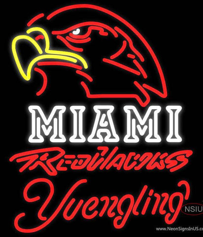 Yuengling Neon Miami UNIVERSITY Redhawks Neon Sign