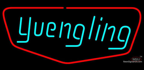 Yuengling Red Border Neon Beer Sign