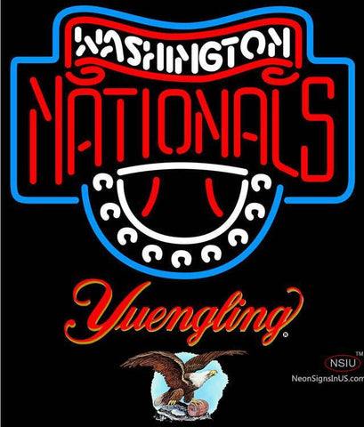 Yuengling Washington Nationals MLB Neon Sign
