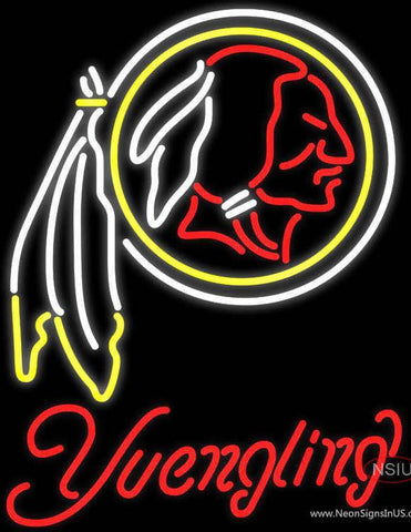 Yuengling Washington Redskins NFL Beer Neon Sign