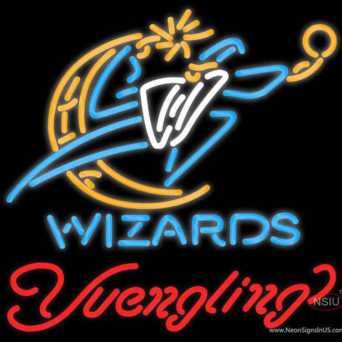 Yuengling Washington Wizards NBA Beer Neon Sign