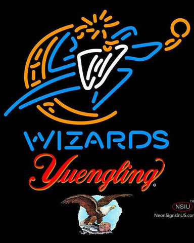 Yuengling Washington Wizards NBA Neon Sign