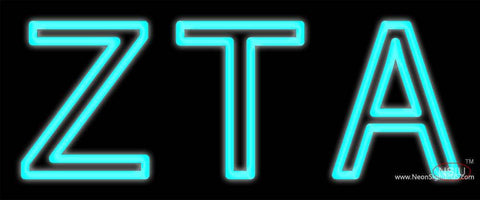 Zeta Tau Alpha Neon Sign