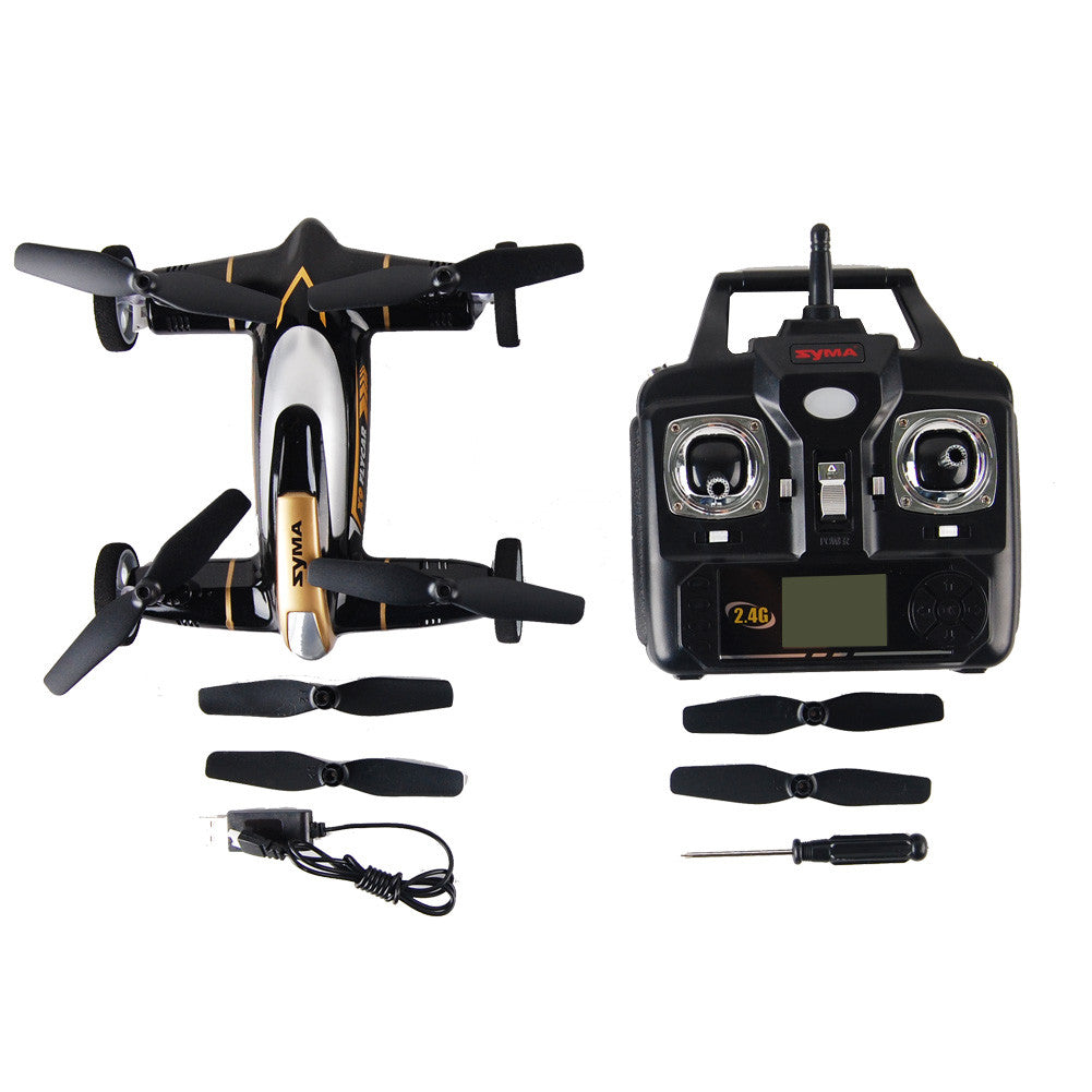 Syma X9 Fly Car 4 Channel 24ghz Rc Quadcopter Black Thearrowbird X8c Venture 4ch With 2 Mp Full Hd Camera White