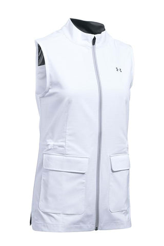Under Armour Ladies Storm Strike Vest - White - AW2017
