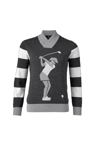 Daily Sports Rita Pullover Lined - Grey/Black/White