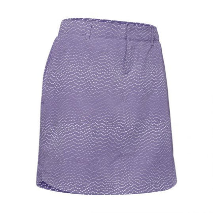 Under Armour  Ladies Printed Skort - Purple