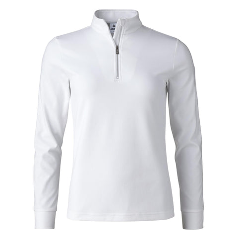 Daily Sports Anna Long Sleeve Half Zip - White