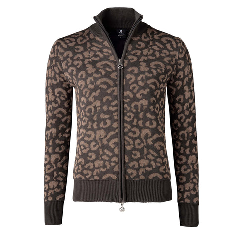 Daily Sports Ashlee Leopard Cardigan - Coffee