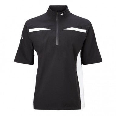 Callaway Mens Waterproof Playing Top - Caviar - SS2018