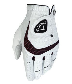 Callaway Mens Syntech Glove Right - White - AW2018