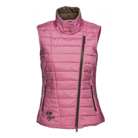 Daily Sports Livia Quilted Wind Vest - Pink - AW2015