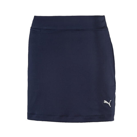 Puma Junior Solid Knit Skort - Navy or Pink
