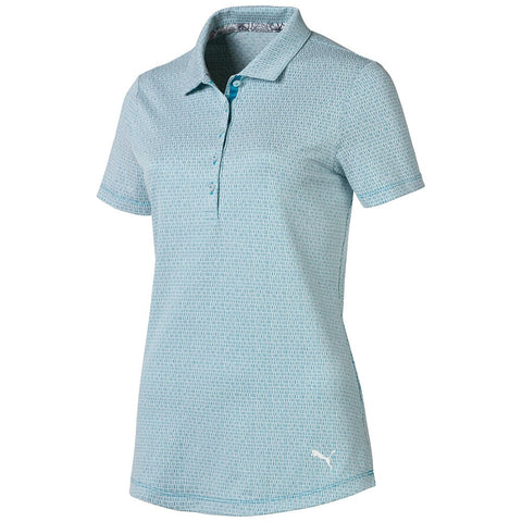 Puma Ladies Swift Polo - Caribbean Sea Blue