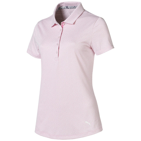 Puma Ladies Swift Polo - Pale Pink