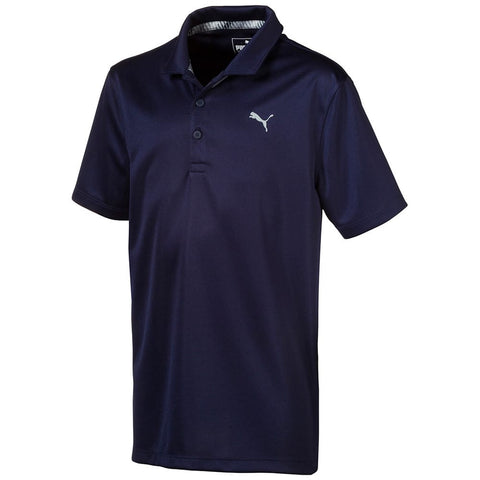 Puma Junior Boys Essential Polo - Navy