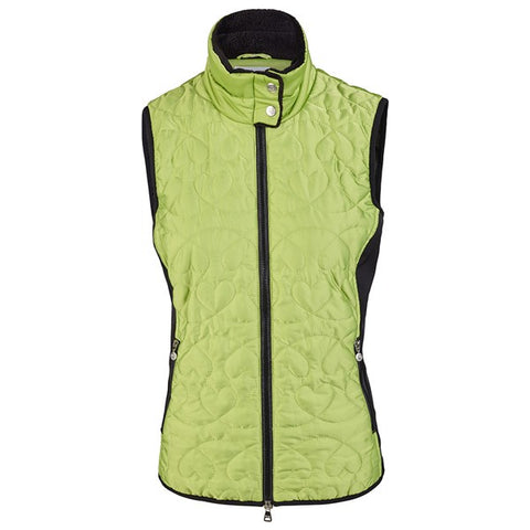 Daily Sports Ladies Harley Vest - Green