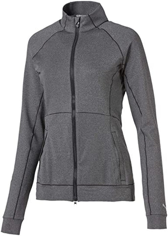 Puma Ladies Vented Full Zip Jacket - Grey