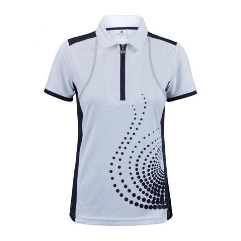 Daily Sports - Spin Polo - White/Navy
