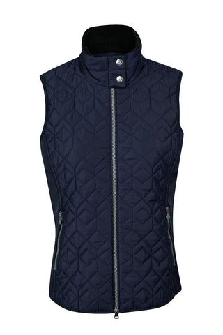 Daily Sports Milla Quilted Vest - Navy