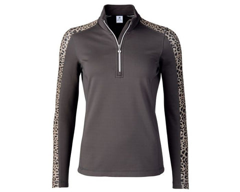 Daily Sports  Leona Half Zip - Black