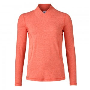 Daily Sports Agnes L/S Mock Neck - Flame