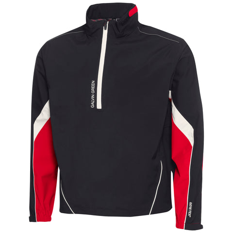 Galvin Green Armando GTX Quarter Zip - Red Black Snow