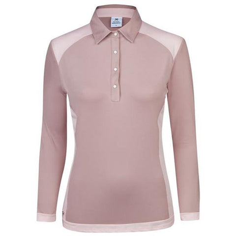 Daily Sports - Saga Long Sleeve Polo - Dusty Pink
