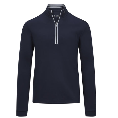 Penguin 1/4 Zip Pullover - Navy