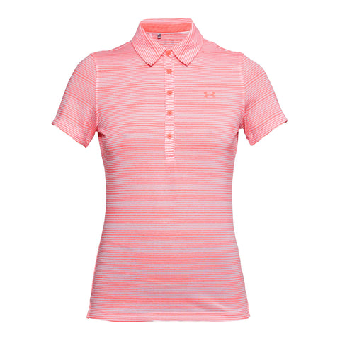 Under Armour Ladies Zinger SS Novelty Polo - SS2018