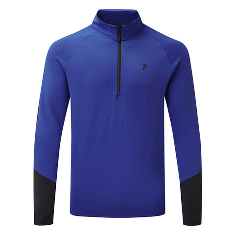 Peak Performance Ride 1/2 Zip  - Island Blue - SS2018