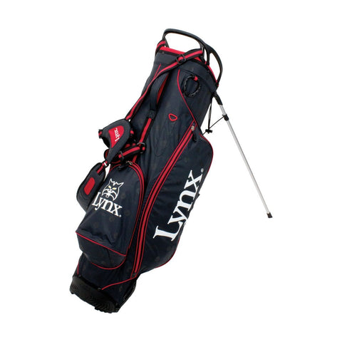 Waterproof Stand Bag - Black/Red - SS2019