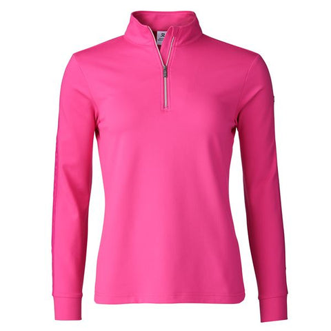 Daily Sports Macey Long Sleeve Half Zip - Cerise