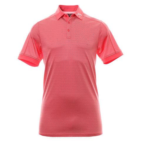 Callaway Jaquard Polo - Cayenne - SS2016