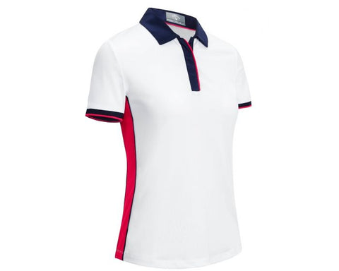 Callaway Ladies Cooling Polo - White - 2019