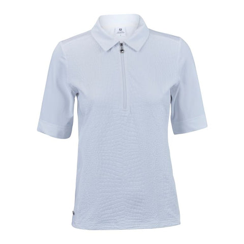 Daily Sports  - Aubrey 1/2 Sleeve Polo Shirt - White