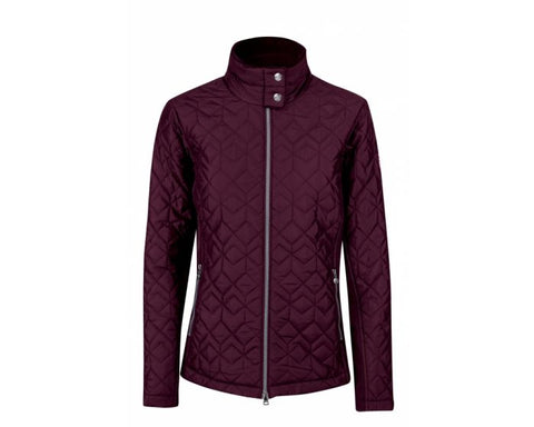 Daily Sports Milla Quilted Jacket - Plum