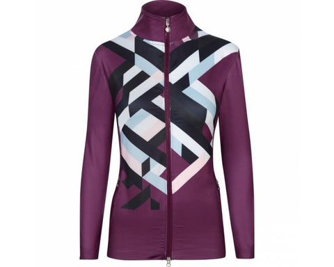 Daily Sports Tilly Jacket - Wine