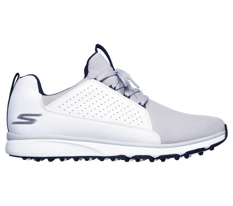 Skechers Mojo Elite Golf Shoes - White/Grey - 2019