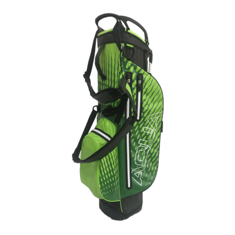 Ouul Waterproof Stand Bag - Green/White - SS2019
