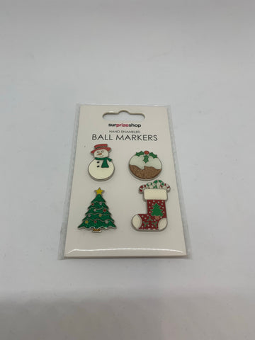 Surprizeshop Novelty Xmas Ball Markers