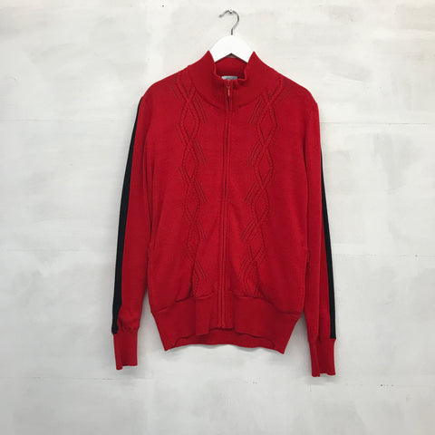 Abacus Baffy Windstopper Cardigan - Red - AW2015