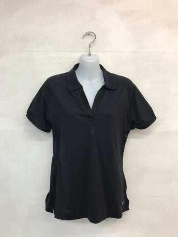 Oakley Steep Polo Shirt - Black - Pre2014