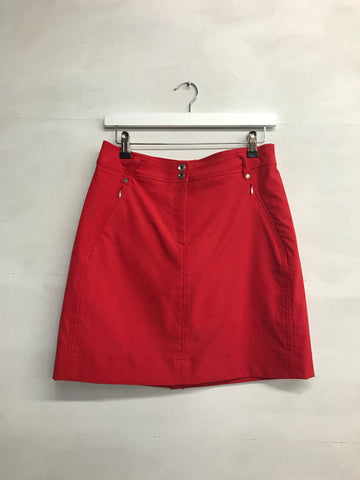 Galvin Green Nova Ventil8 Skort - Electric Red - SS2016